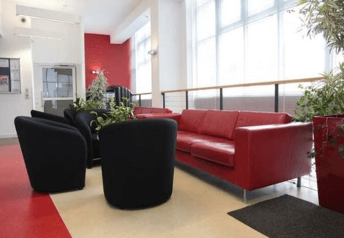 East Road EC1 office space – Reception