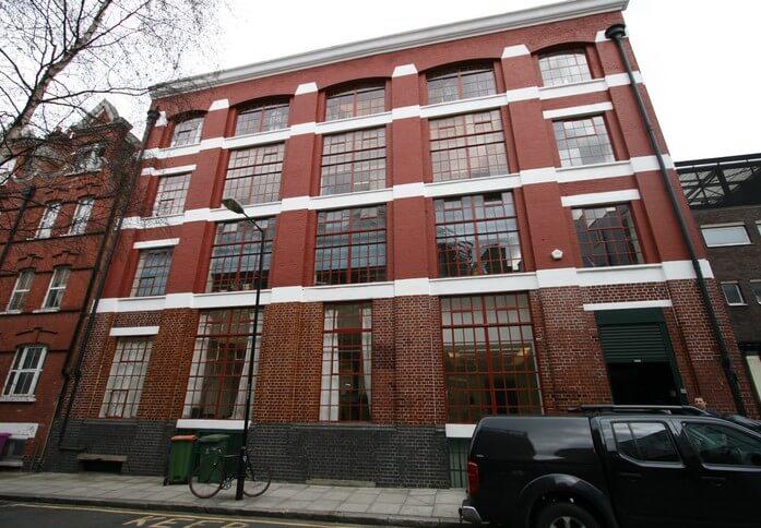 East Tenter Street E1 office space – Building External