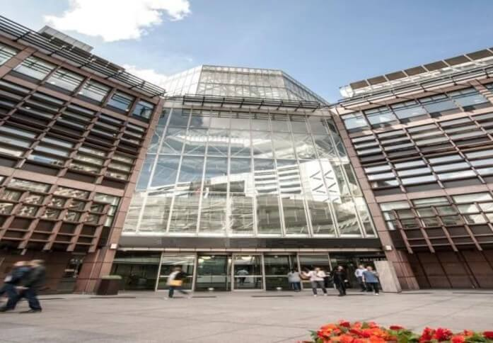 Broadgate EC2 office space – Building External
