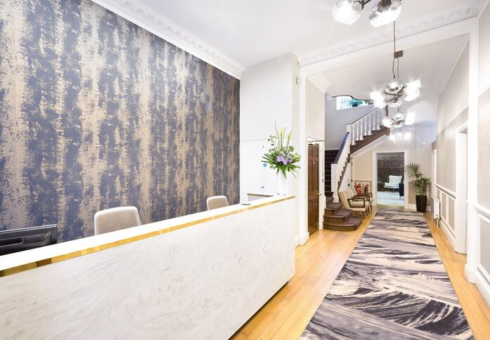 Devonshire Street W1 office space – Reception