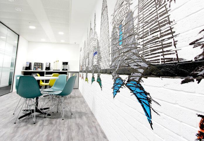 Cheapside EC1 office space – Break Out Area