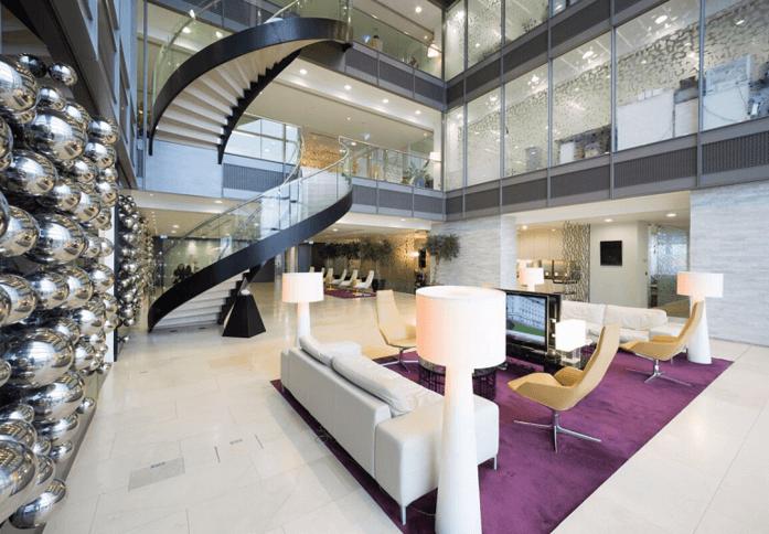 Bishopsgate EC1 office space – Break Out Area