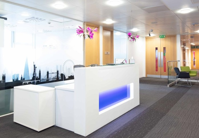Euston Road NW1 office space – Reception