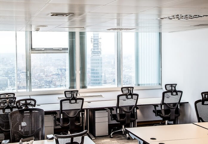 Euston Road NW1 office space – Private Office (different sizes available)