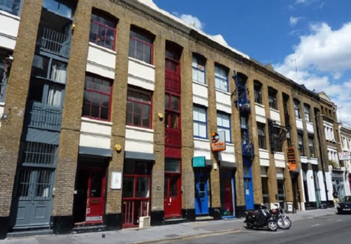 Leonard Street EC1 office space – Building External