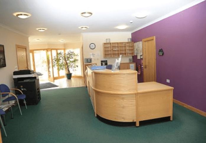 Broomiesburn Road AB41 office space – Reception