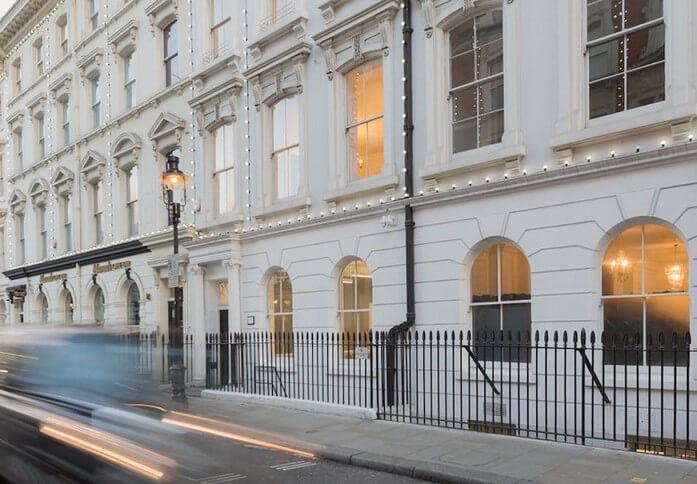 Henrietta Street WC2 office space – Building External