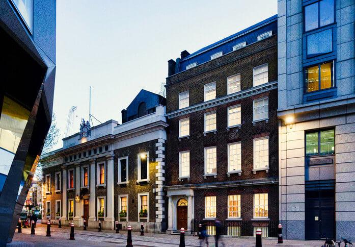 Coleman Street EC2 office space – Building External