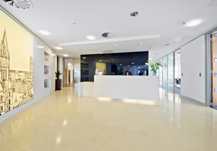 Brown Street M1 office space – Reception