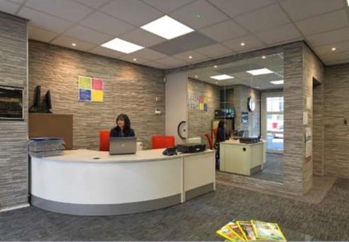 Leman Street E1 office space – Reception