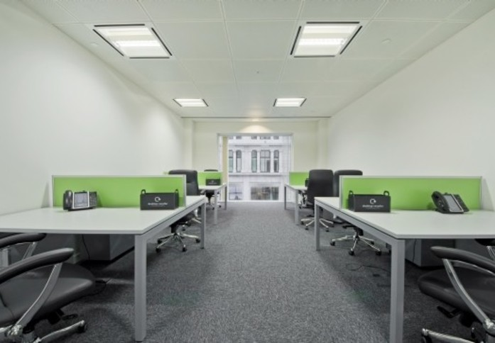 Gresham Street EC2 office space – Private Office (different sizes available)