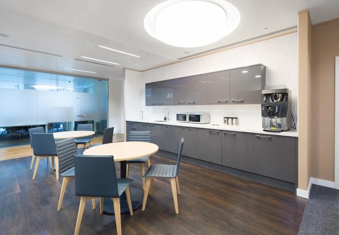 Hardman Square M1 office space – Kitchen