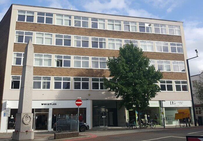 Sheen Lane SW14 office space – Building External