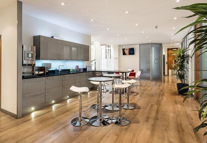 Mortimer Street W1 office space – Kitchen