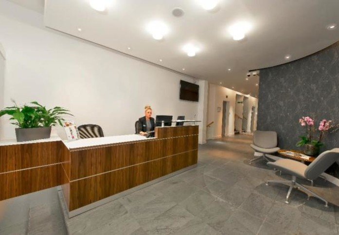 Sackville Street W1 office space – Reception