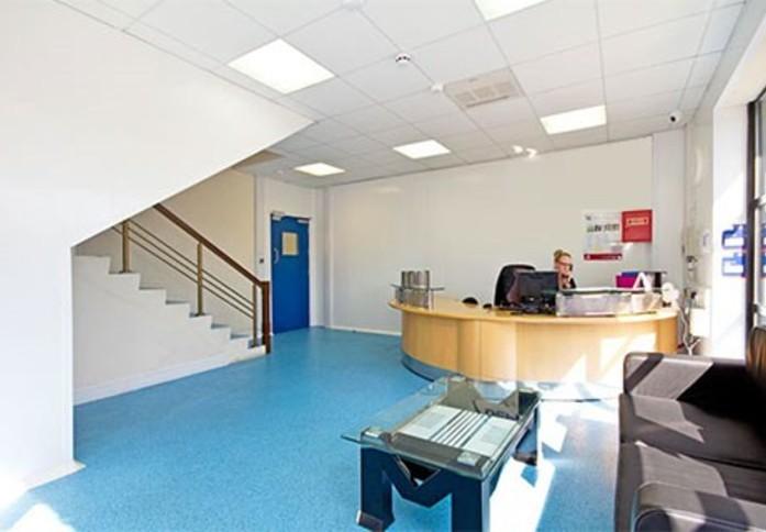 Acton Lane W3 office space – Reception