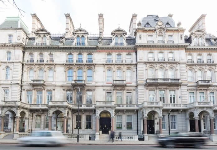 Grosvenor Gardens SW1W office space – Building External