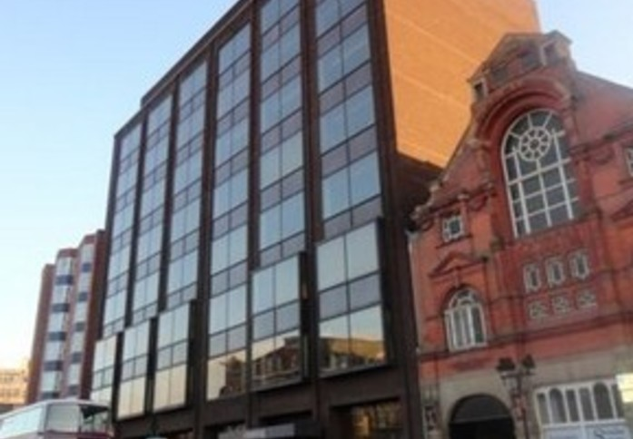 Humberstone Gate LE1 office space – Building External