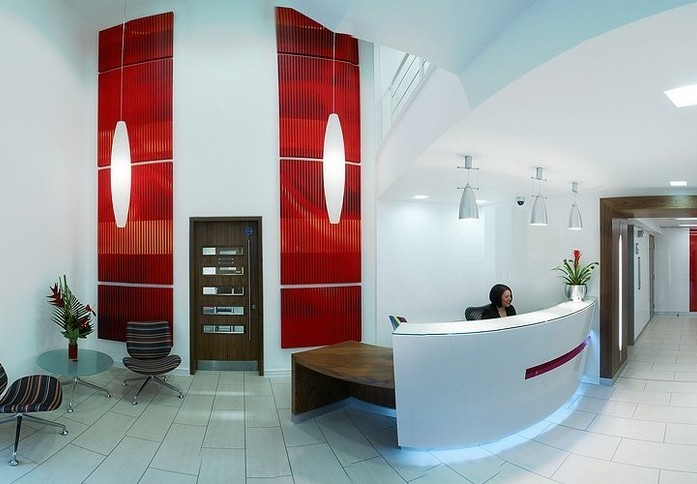 Exchange Quay M1 office space – Reception