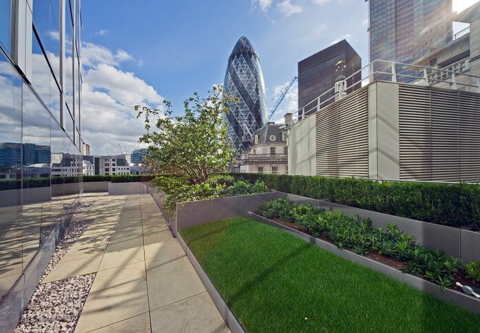 Bishopsgate EC1 office space – Outdoor Area