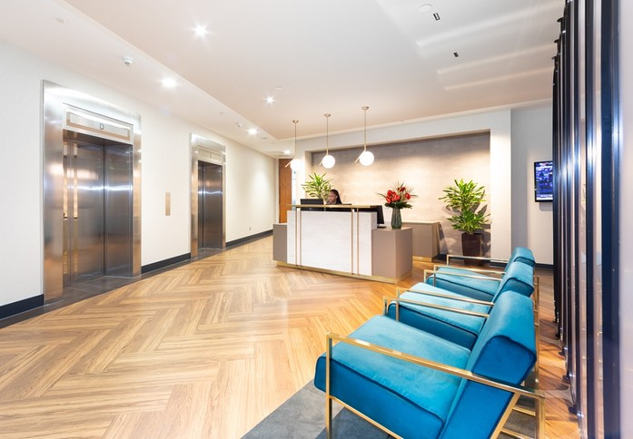 Bishopsgate EC1 office space – Reception