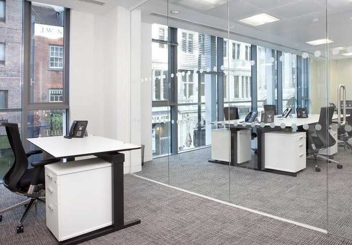 Dover Street W1 office space – Private Office (different sizes available)