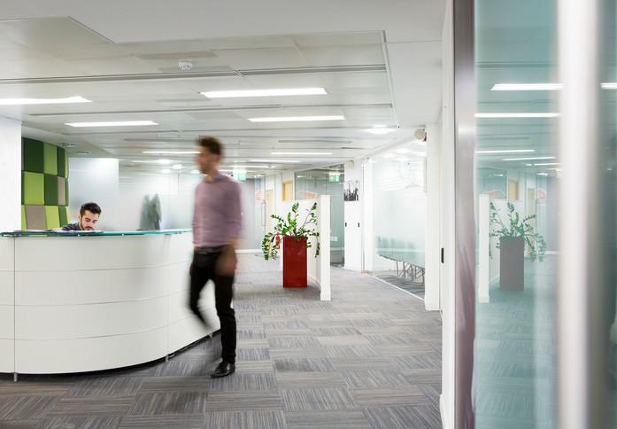 Millbank SW1 office space – Reception
