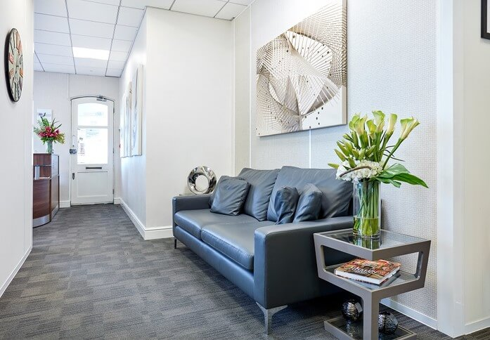 The Exchange NW4 office space – Reception