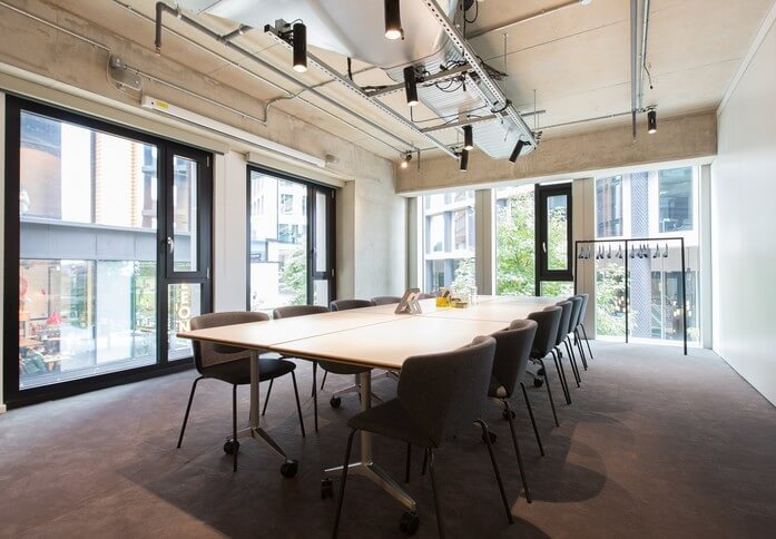 Pancras Square WC1 office space – Meeting/Boardroom