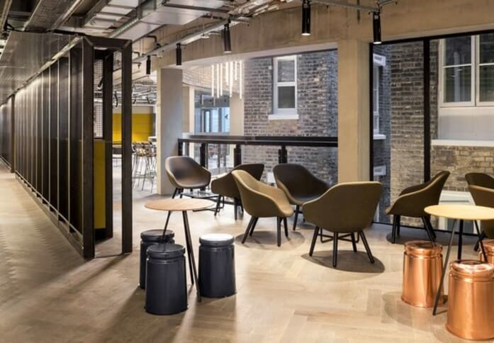 Pancras Square WC1 office space – Break Out Area