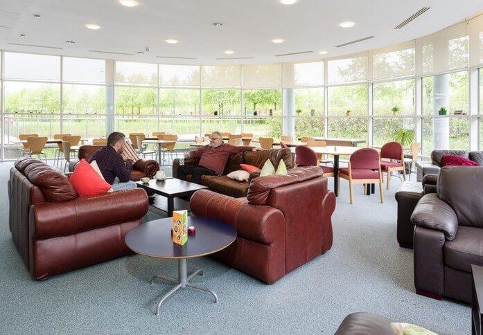 Rosebank EH54 office space – Break Out Area