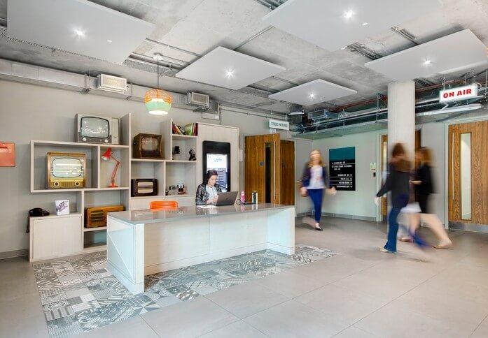 Highbury Grove N1 office space – Reception