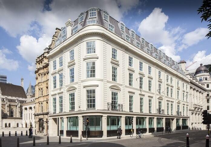 Gresham Street EC2 office space – Building External