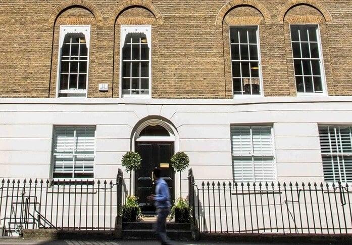 Christopher Street EC1 office space – Building External