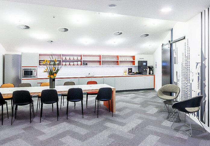 Merchant Square W2 office space – Kitchen