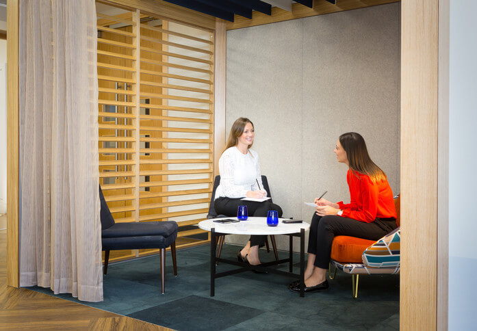 Botolph Street E1 office space – Break Out Area