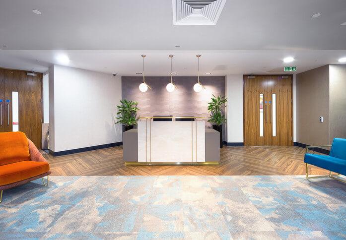 King William Street EC4 office space – Reception