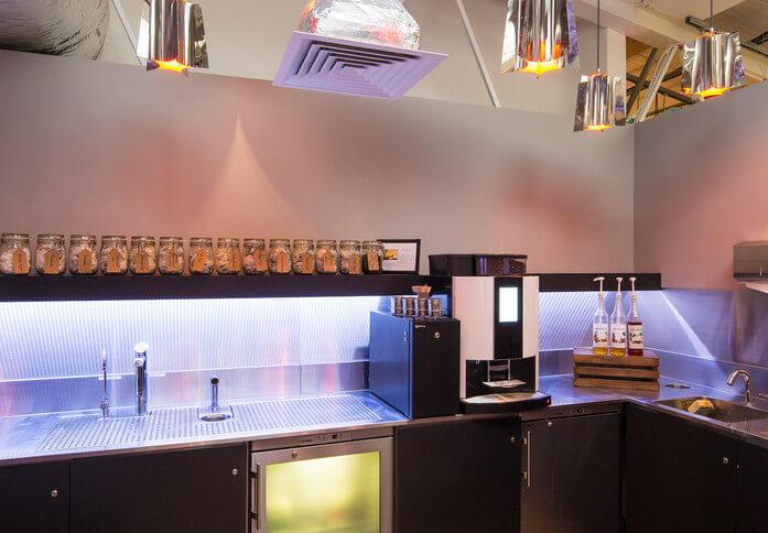 Silverthorne Road SW2 office space – Kitchen