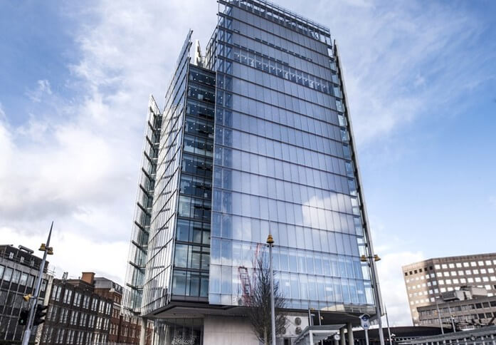 London Bridge Street SE1 office space – Building External