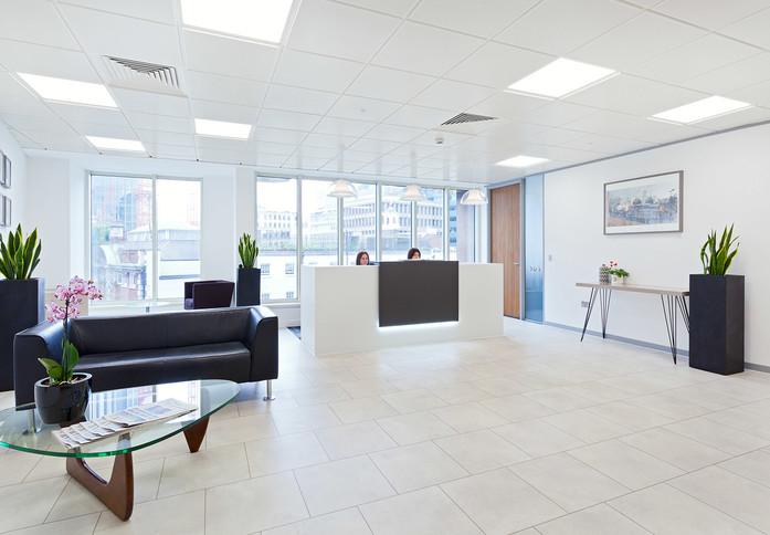 Aldgate E1 office space – Reception