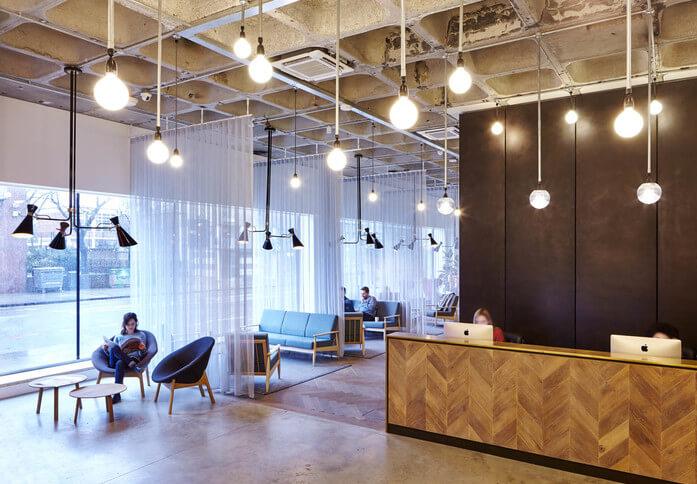 Borough High Street SE1 office space – Reception