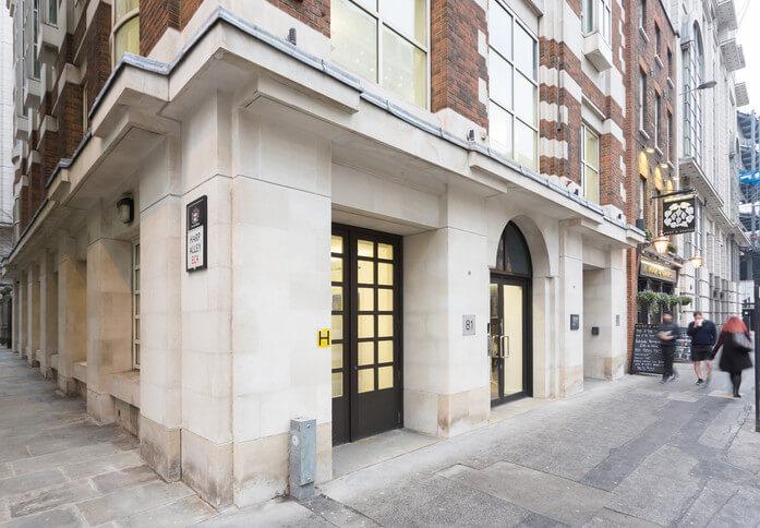 Farringdon Street EC1 office space – Building External
