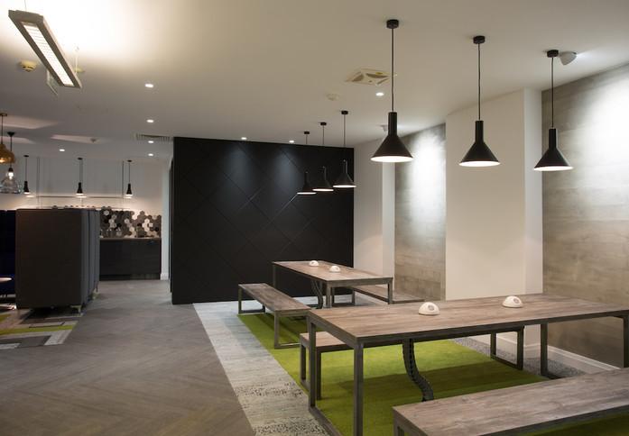 Farringdon Street EC1 office space – Break Out Area