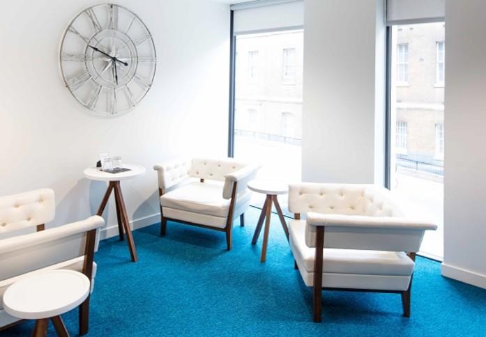 St Dunstans Hill EC4 office space – Break Out Area