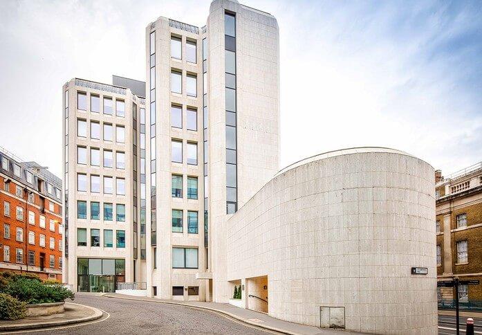 St Dunstans Hill EC4 office space – Building External