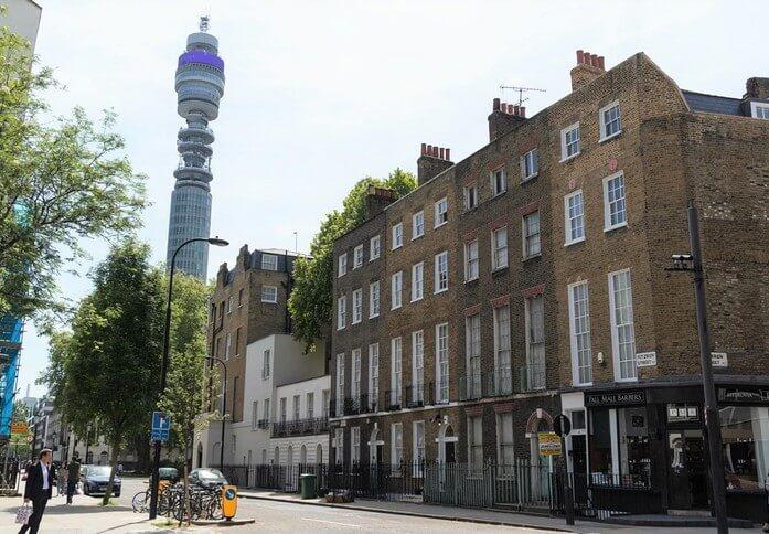 Fitzroy Street W1 office space – Building External
