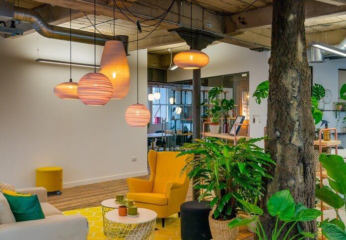 Portland Street M1 office space – Break Out Area