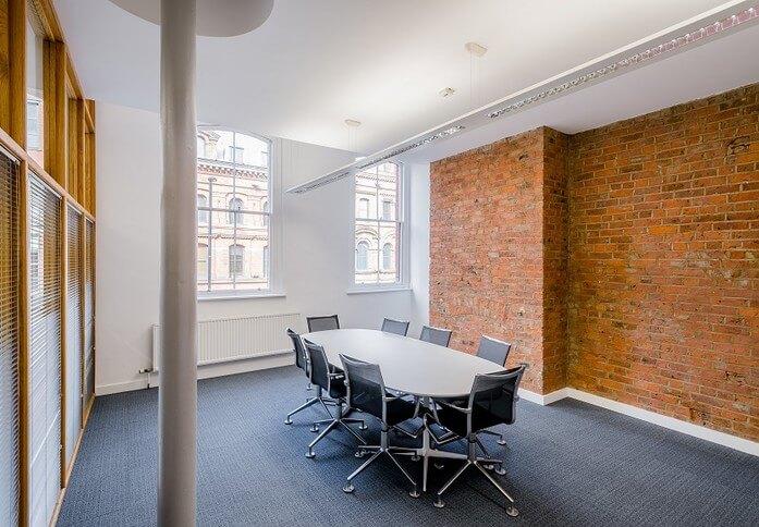 Portland Street M1 office space – Meeting/Boardroom