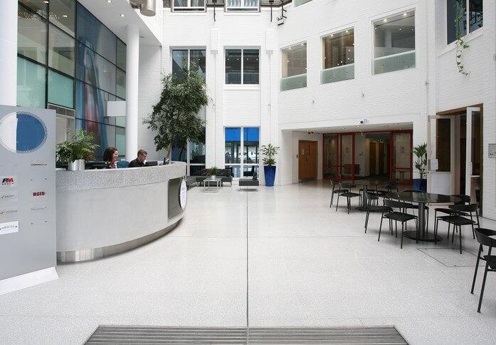 Bickenhill Lane B1 office space – Reception