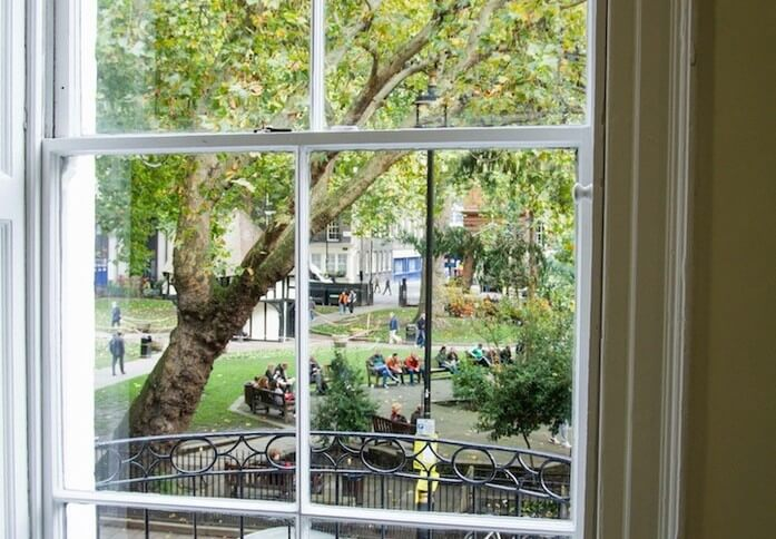 Soho Square W1 office space – View